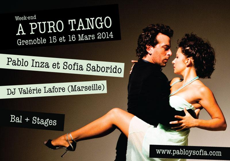 A PURO TANGO - GRENOBLE - PABLO INZA + SOFIA SABORIDO