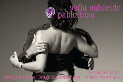 Pablo Inza + Sofia Saborido - Seminar CHAMBERY 2014