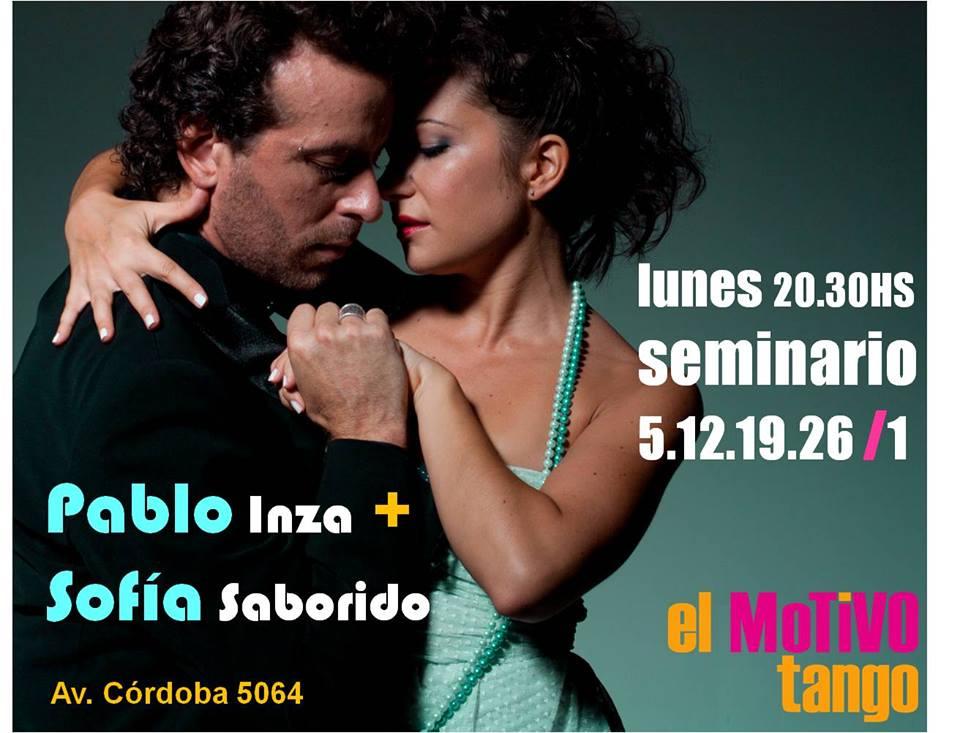 Seminario EL MOTIVO - Pablo Inza & Sofia Saborido