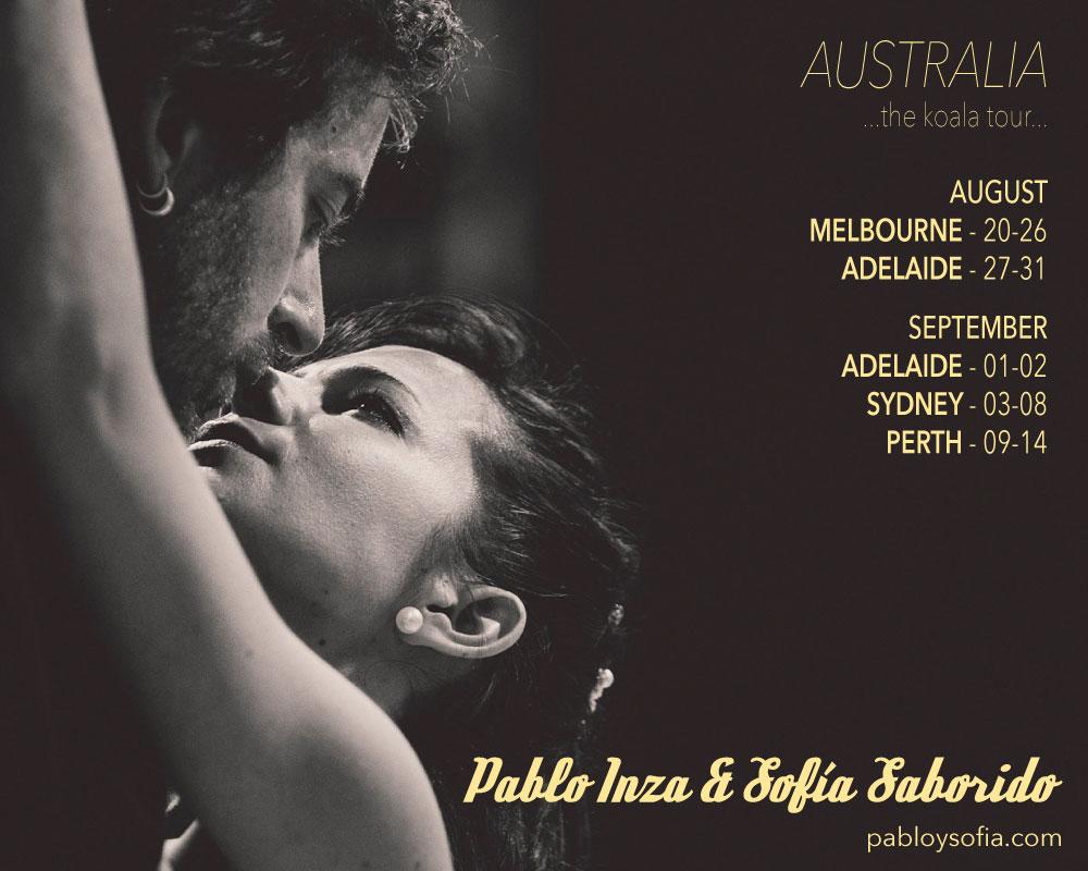 Pablo Inza & Sofia Saborido - AUSTRALIA 2015