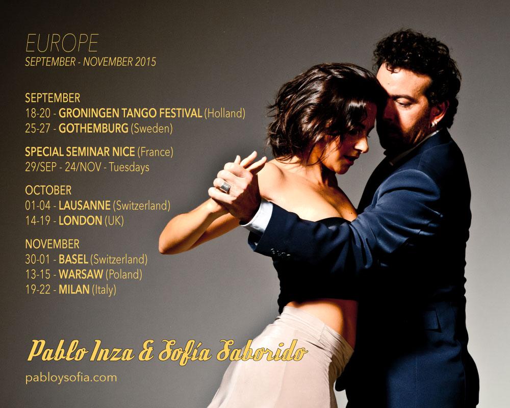 Pablo Inza & Sofia Saborido - EUROPE 2015
