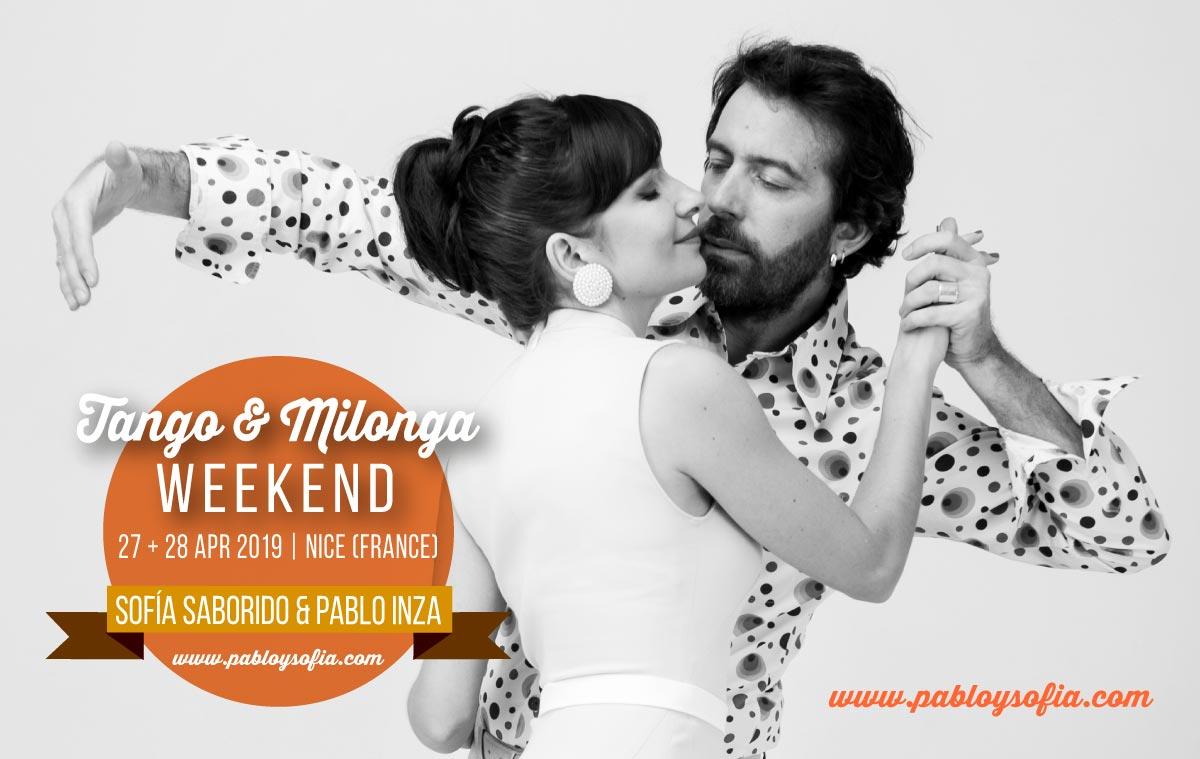 Pablo Inza & Sofia Saborido   TANGO & MILONGA WEEKEND 2019