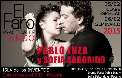 Pablo Inza + Sofia Saborido - Rosario - Febrero 2015