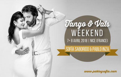 Pablo Inza & Sofia Saborido - Tango & Vals Weekend - Nice