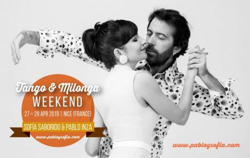 Pablo Inza & Sofia Saborido | TANGO & MILONGA WEEKEND 2019