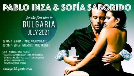 Pablo Inza & Sofia Saborido -INTENSIVE TANGO PROJECT